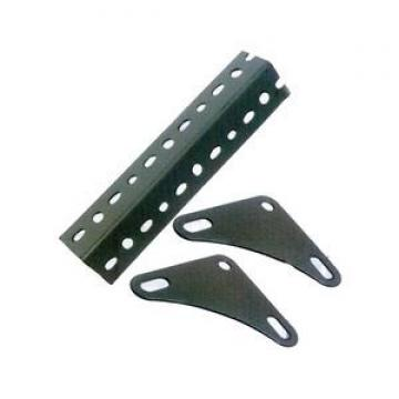 Steel corner metal angle bracket 8 hole base connector brace steel beam fitting