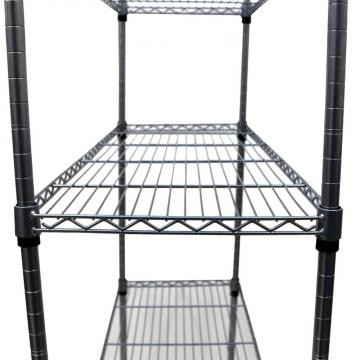 Chorome Office Wire Mesh Metal Industrial Shelves